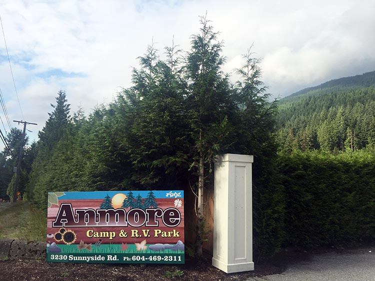 Review of Anmore Camp and RV Park, Near Vancouver. We spent two months at Anmore RV park in Anmore, British Columbia