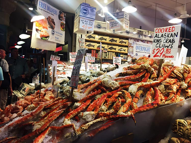 What Can You Do When Your RV is Having Repairs? MORE seafood at Pike Place