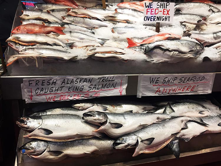 What Can You Do When Your RV is Having Repairs? We enjoyed Pike Place Market, where the seafood was simply astounding
