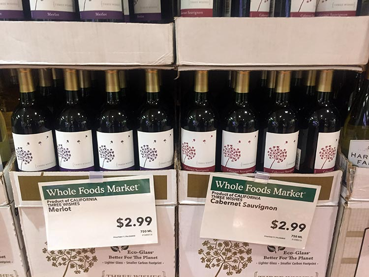 What Can You Do When Your RV is Having Repairs? Some of the wine in the USA is amazingly cheap. In Vancouver, you couldn't buy water for this price!