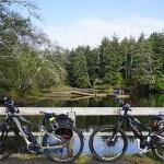 Bike Trails at Fort Stevens State Park in Oregon