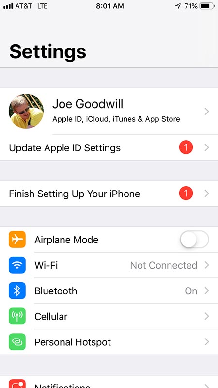 You can toggle Airplane mode on and off near the top of your Settings screen, if you have an iPhoneHow Canadian Snowbirds Can Get Internet in the USA and Mexico.