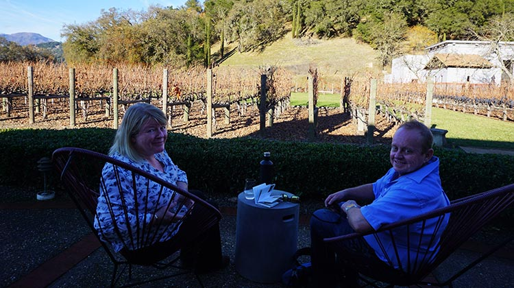 Wine Tasting while RV Camping at the Calistoga RV Park, Napa Valley, California