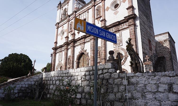 Day 5 of our RV Trip with Baja Winters: San Ignacio to Santispac Beach, Bahía de Concepción, Baja California Sur, Mexico. Here is another view of the mission Church in San Ignacio