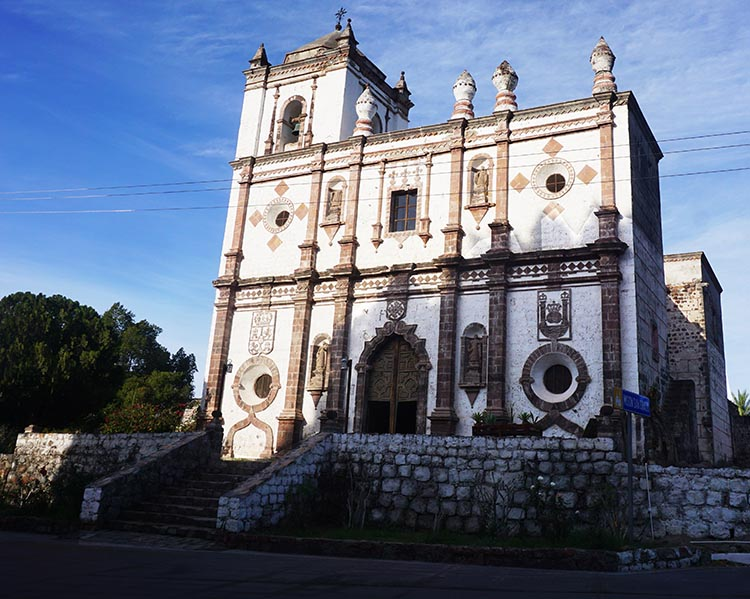 Day 5 of our RV Trip with Baja Winters: San Ignacio to Santispac Beach, Bahía de Concepción, Baja California Sur, Mexico. Here is the most photographed mission church in Baja, in San Ignacio