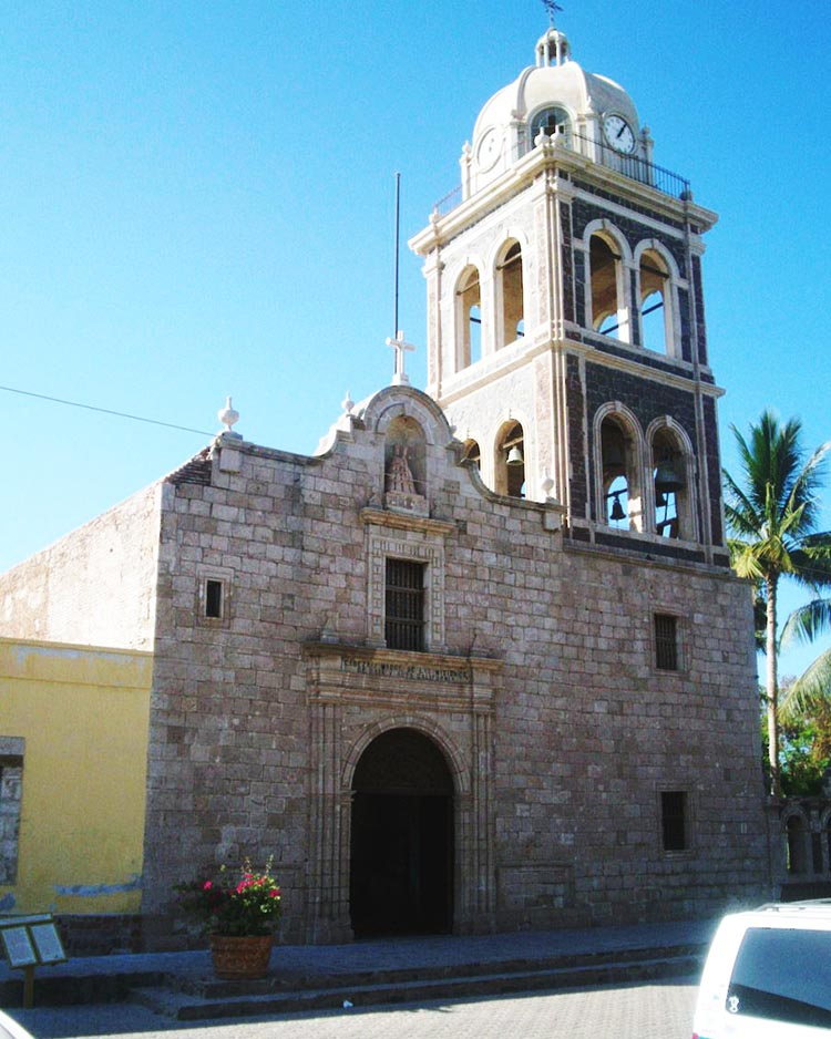 The Mission Church in Loreto: Mision Nuestra Senora de Loreto