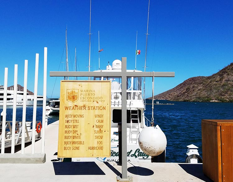 Marina Puerto Escondido - Photo supplied by Juli Cooley