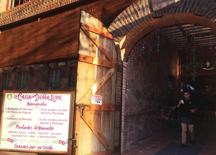 We also visited La Casa de Dona Lupe