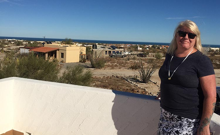 Most of the homes on the ranch have views of the Sea of Cortez, especially from the roof
