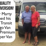 Video of Camper Van Conversion: How Marty Converted a Ford Transit into an RV Camper Van