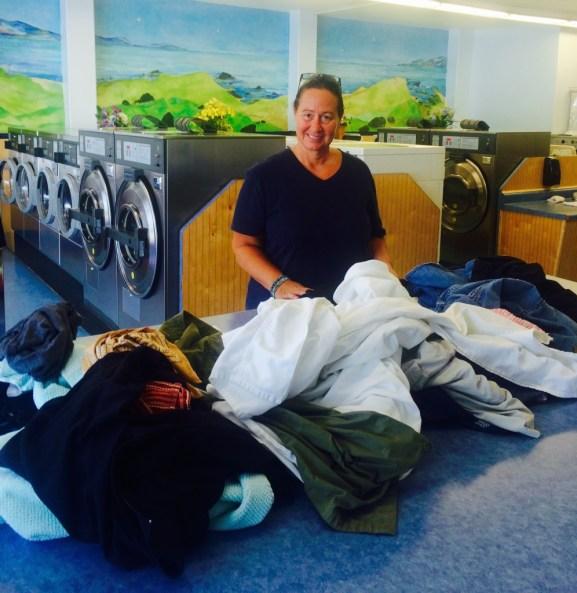 Sacramento, CA. Laundry day.