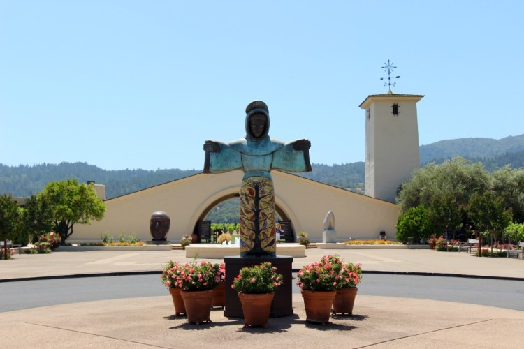 Napa Valley, St Helena, CA. Robert Mondavi Winery, four decades of fine wines.