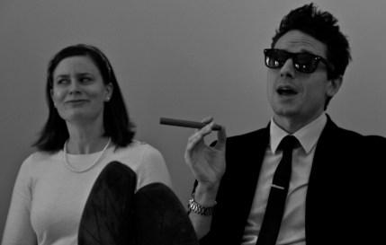 Joe and Nancy in The Stolen Dissertation
