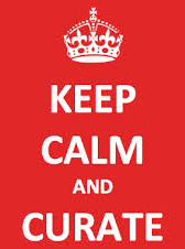 keep calm and curate