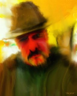 """Self Portrait of the Artist as a Slightly Older Man"""