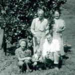 May's parents & May, Joyce and Dad