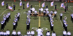 High School Football - VP Band Halftime