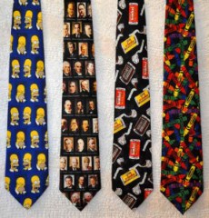Simpson, Presidents, Candy & Crayola ties