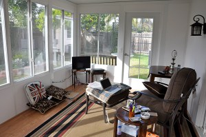 Sunroom Interior West and North