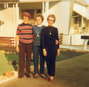 Clara Smith, Mom, Esther Feick