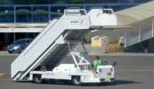 Trip - Passenger loading/unloading stairs.