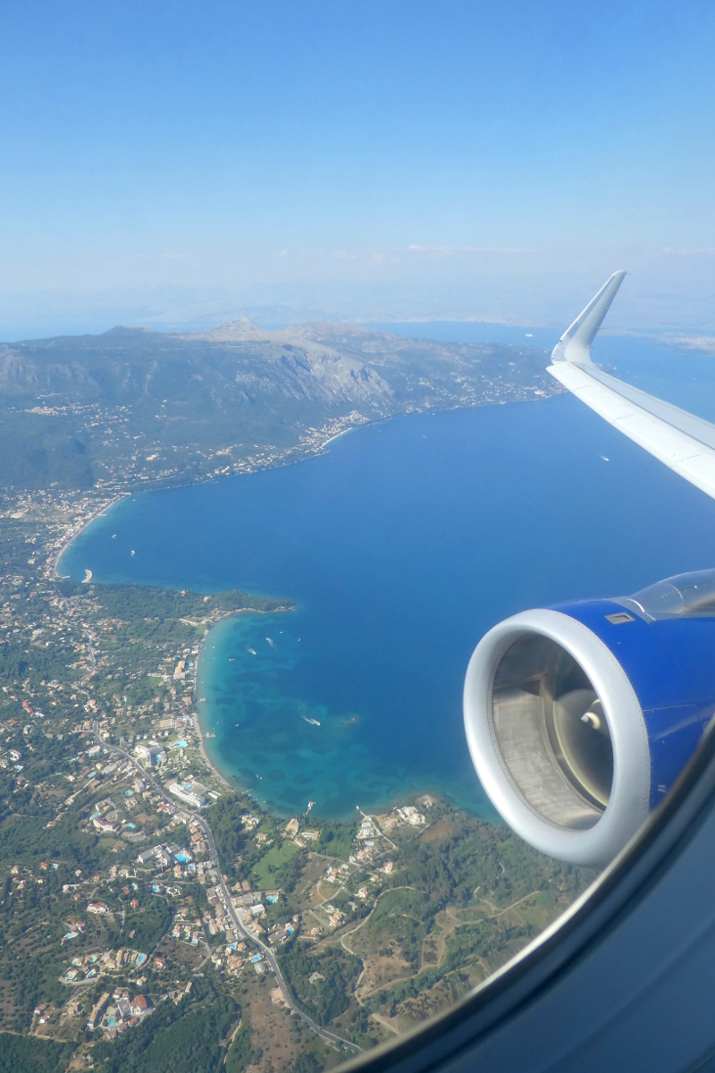 Trip -- Aerial View of Corfu