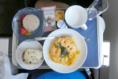 Trip - Lunch on BA