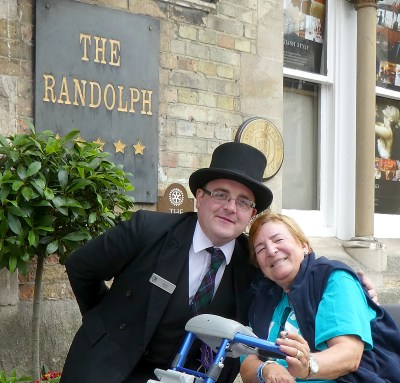 Trip - Daniel and Di at The Randolph