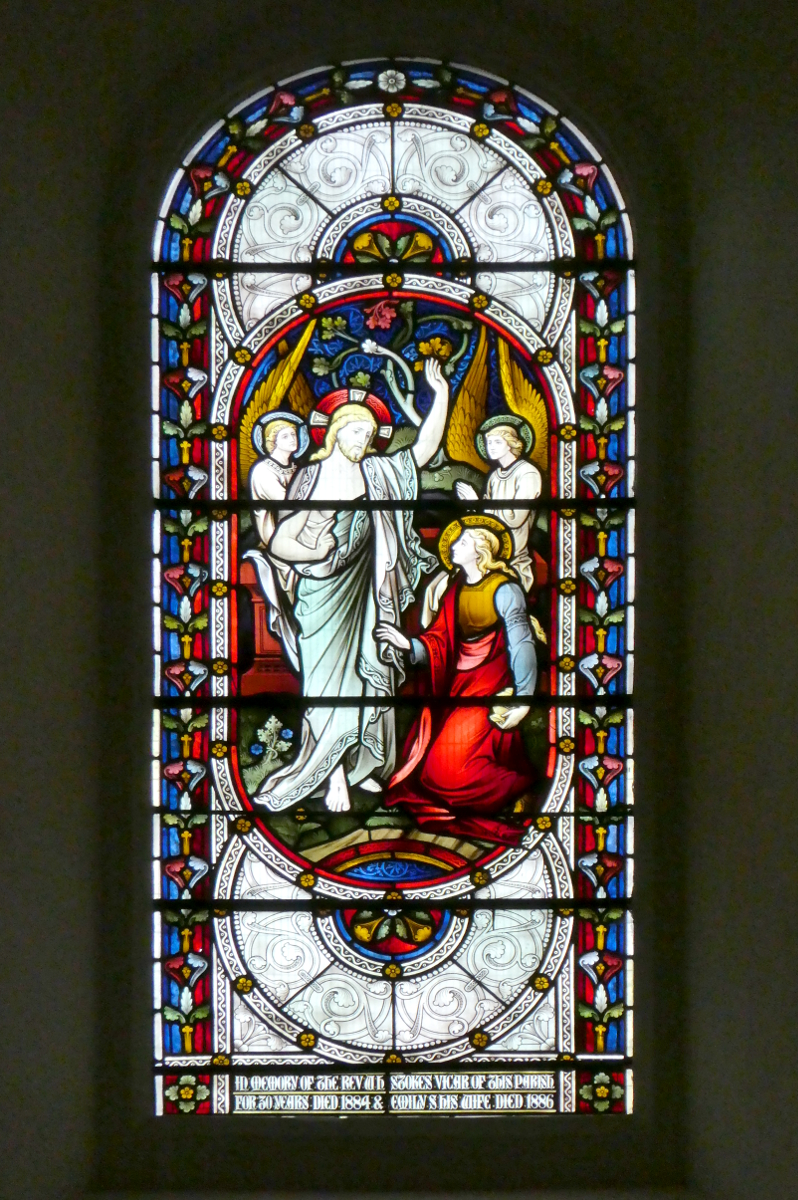 St. Thomas of Canterbury - Stained Glass Window Behind Altar