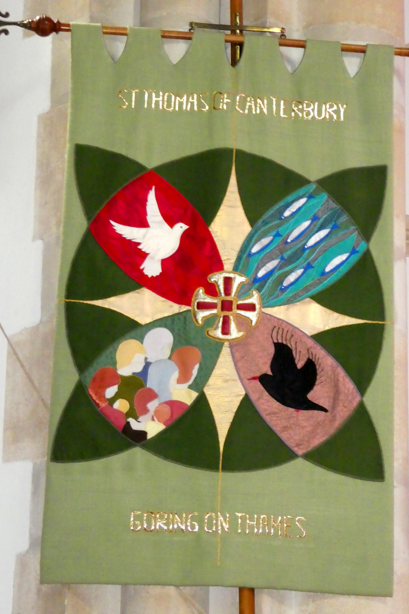 St. Thomas of Canterbury Banner