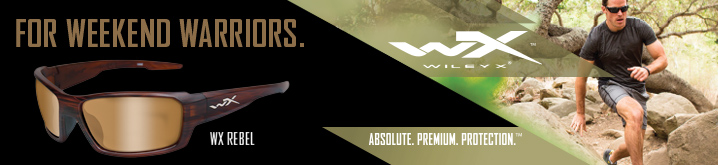 Wiley X the Official Sunglasses of Joe Bass Team Trail