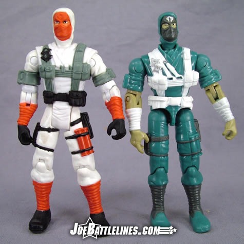 Cobra Ninja Trooper comparison