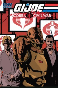 IDW's G.I. Joe: Cobra Civil War #0