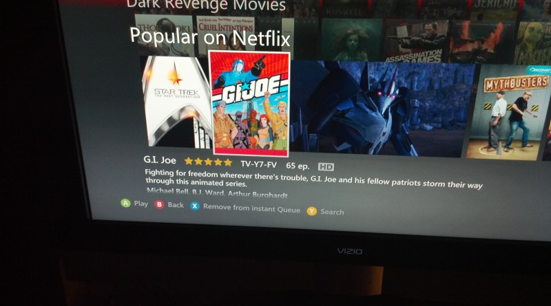 Netflix G.I. Joe A real american hero