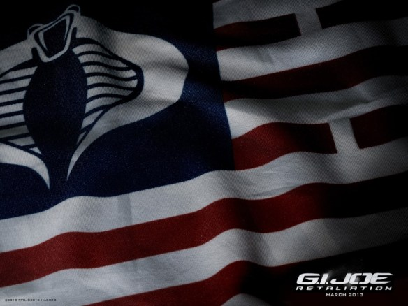 g.i. joe retaliation flag