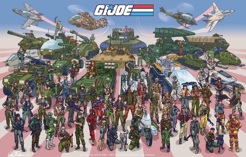 G.I. Joe poster by Ian Fell