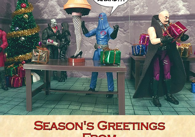 Happy Holidays from JoeBattlelines.com