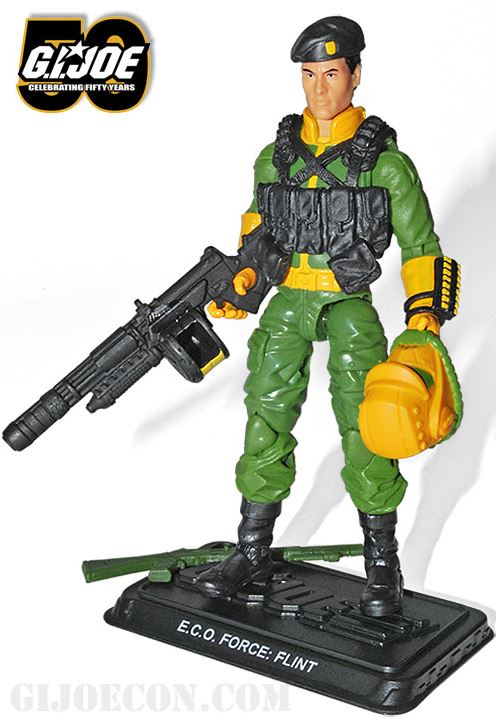 G.I. Joe Convention 2014 Eco Force Flint