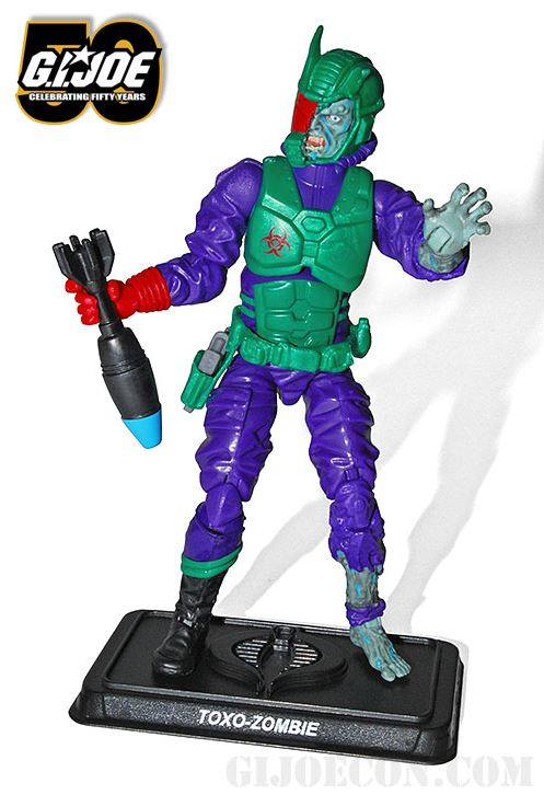 G.I. joe Convention toxo zombie