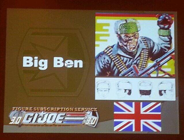 G.I. Joe Collector's Club FSS 3 Big Ben