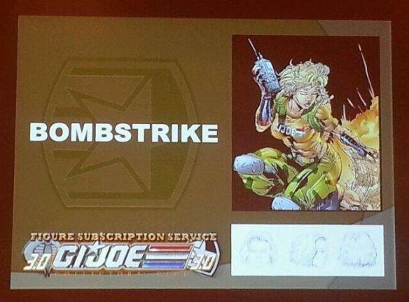 G.I. Joe Collector's Club FSS 3 Bombstrike