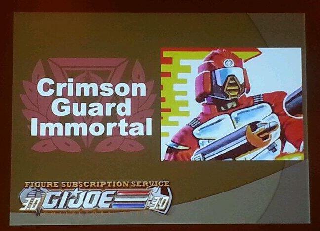 G.I. Joe Collector's Club FSS 3 Crimson Guard Immortal