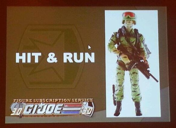G.I. Joe Collector's Club FSS 3 Hit & Run