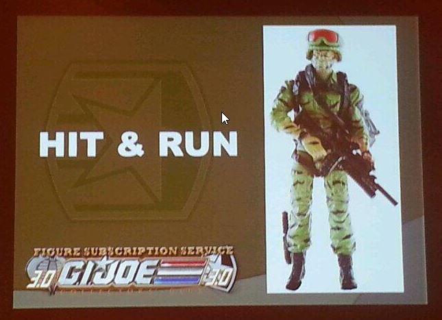 G.I. Joe Collector's Club FSS 3 Hit & Run
