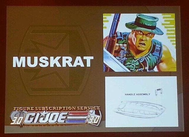 G.I. Joe Collector's Club FSS 3.0 Muskrat