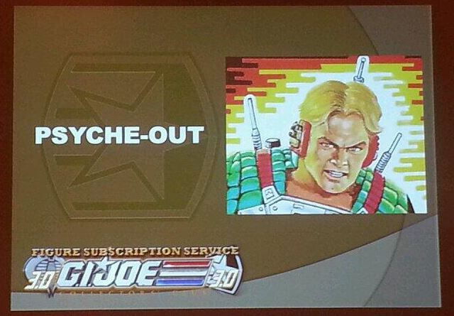 G.I. Joe Collector's Club FSS 3 Psyche-Out