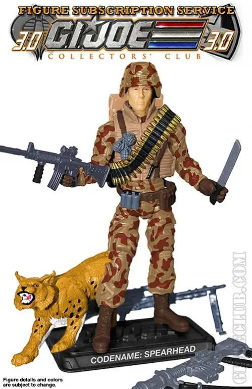 G.I. Joe Collector's Club Figure Subscription Service 3.0 Spearhead & Max