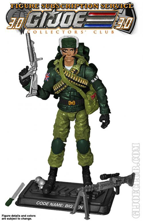 G.I. Joe Collector's Club FSS Big Ben