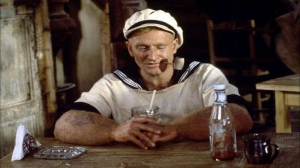 Robin Williams as Popeye 1982