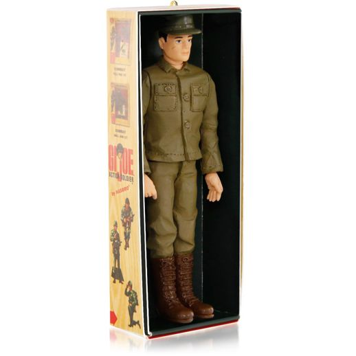 gi joe 50th anniversary hallmark ornament